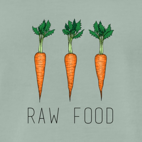 raw food - Männer Premium T-Shirt