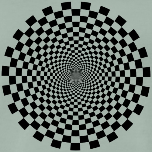 optical illusion 2 - Männer Premium T-Shirt
