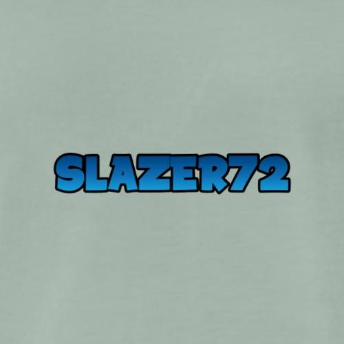 Slazer72 blå gradient - Premium T-skjorte for menn
