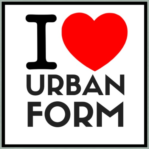 I LOVE URBAN FORM - T-shirt Premium Homme
