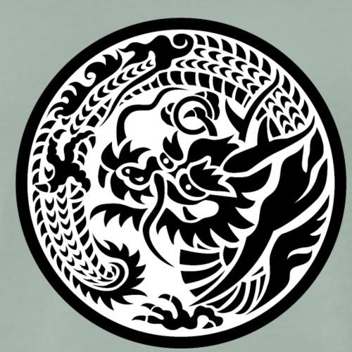 Japanisches Motiv Drache - Ryu - Männer Premium T-Shirt