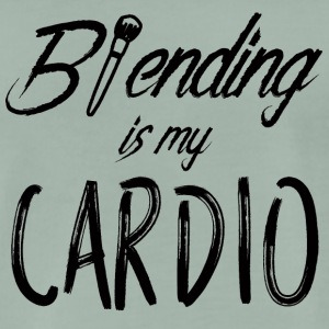 Beauty / Makeup: Blending er min cardio - Premium T-skjorte for menn