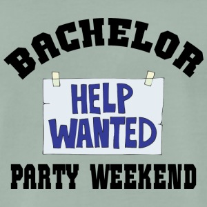 Bachelor Party Help Wanted - Mannen Premium T-shirt
