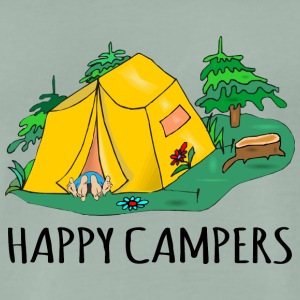Camping Happy Campers - T-shirt Premium Homme