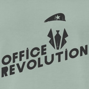 Office Revolution - Männer Premium T-Shirt
