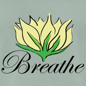 Yoga Breathe - Männer Premium T-Shirt