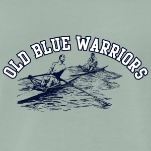 old blur warrior 01 - Men's Premium T-Shirt