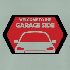 Mechanic: Welcome To The Garage Side - Men's Premium T-Shirt