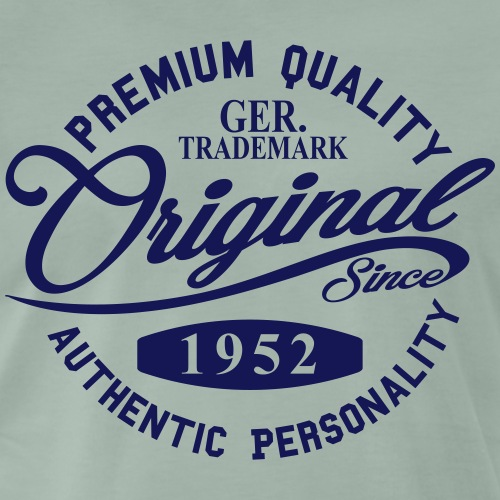 Original Since 1952 Handwriting Premium Quality - Männer Premium T-Shirt