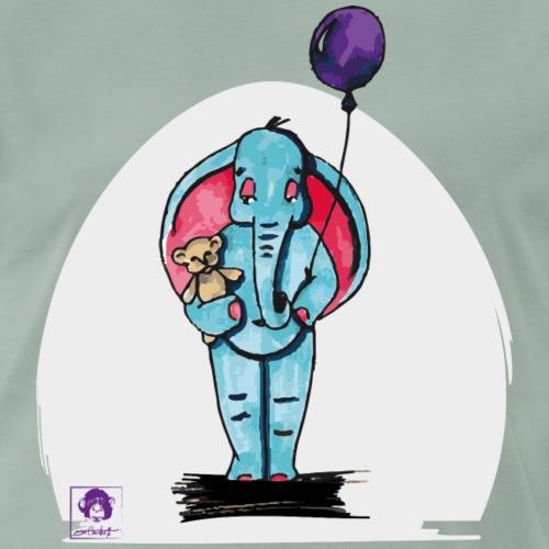 Elie l'éléphant - T-shirt Premium Homme