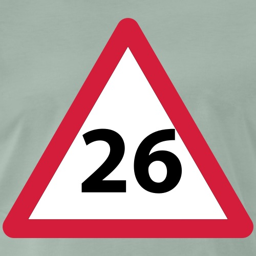 26 Geburtstag Geschenkidee - Männer Premium T-Shirt