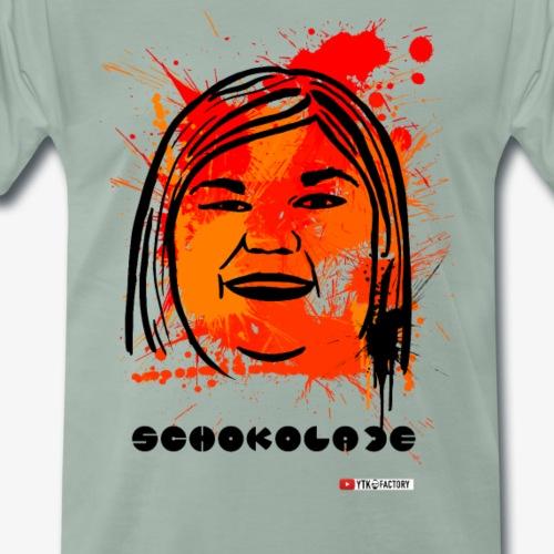 Dome Schokolade Graffiti - Männer Premium T-Shirt