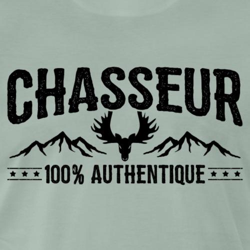 T-shirt Chasse - Chasseur 100% authentique - T-shirt Premium Homme