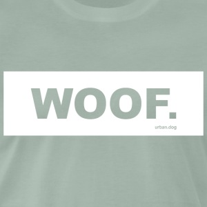 Woof urban.dog Hvit - Premium T-skjorte for menn