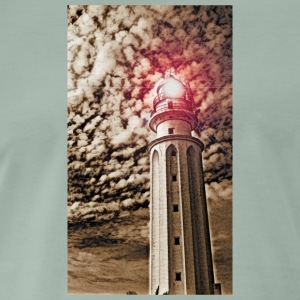 LIGHTHOUSE TRAFALGAR_SEPIA - Premium-T-shirt herr