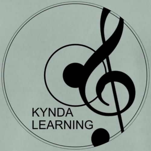 New Kynda Learning Logo BLK - Men's Premium T-Shirt