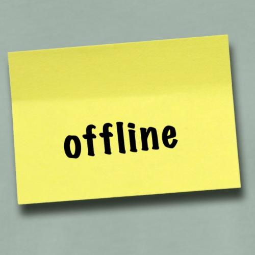 offline sticker - Männer Premium T-Shirt