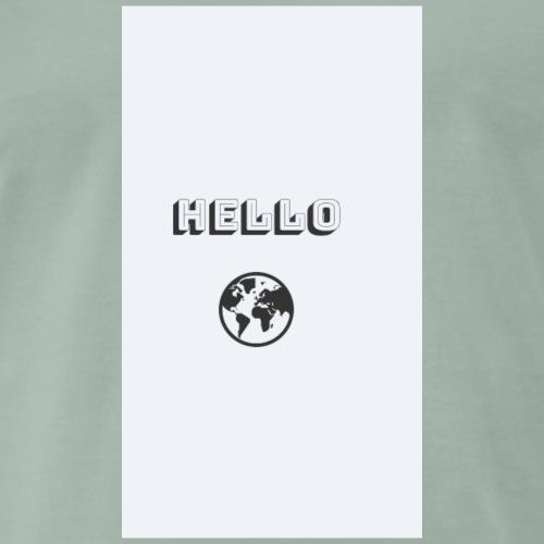 Eine Welt - Männer Premium T-Shirt