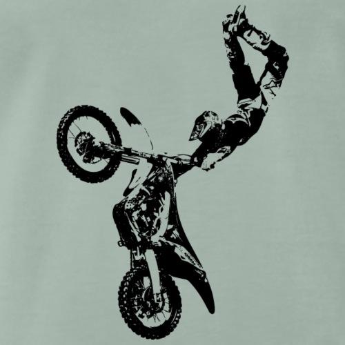 Motorcross black - Männer Premium T-Shirt