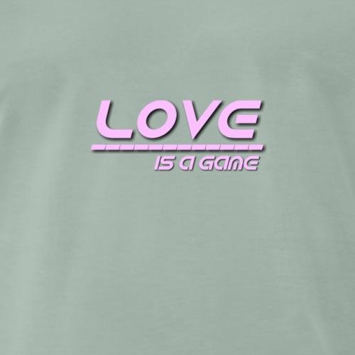 Love (pink) - Männer Premium T-Shirt