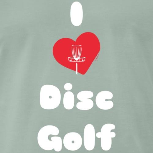 I Love Disc Golf I - Männer Premium T-Shirt