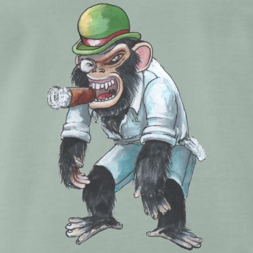 Egon Chimpanzee - Herre premium T-shirt