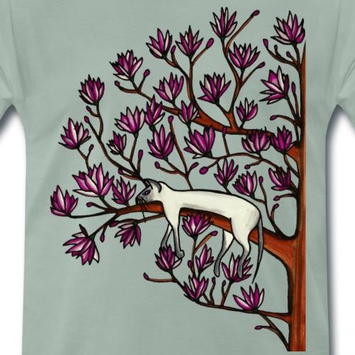 Magnolia - Premium-T-shirt herr
