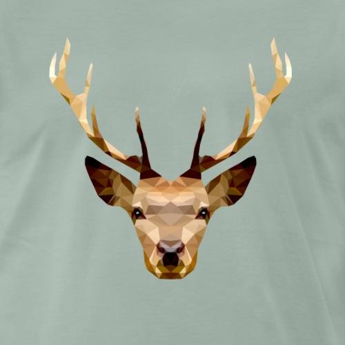 A Stag from the Forest - Maglietta Premium da uomo