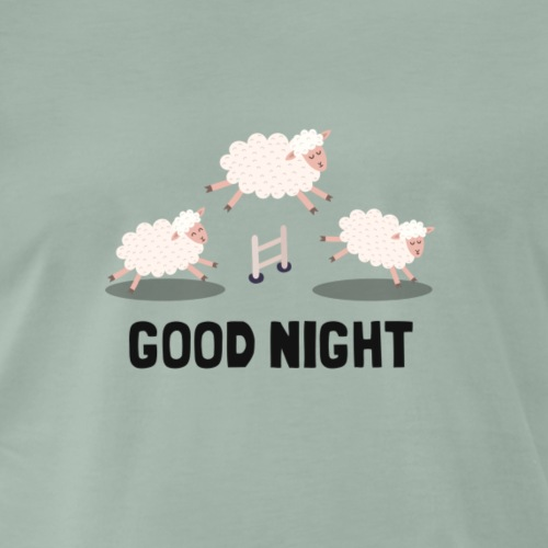 Good Night - Männer Premium T-Shirt