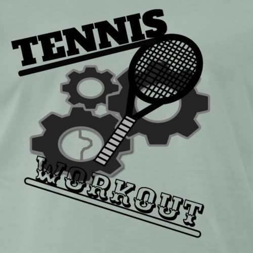 TENNIS WORKOUT - Men's Premium T-Shirt
