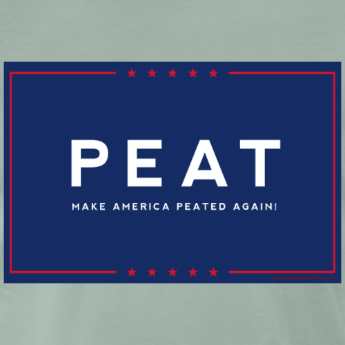 Scotch Test Dummies - Make America Peated Again - Men's Premium T-Shirt