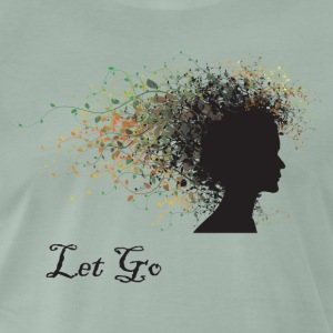 Yoga Let Go - Premium T-skjorte for menn