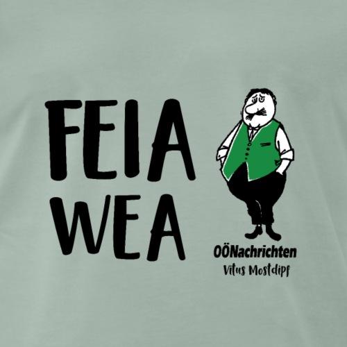 Feiawea - Vitus Mostdipf - Männer Premium T-Shirt