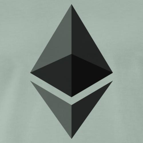 Ethereum logo svg - Männer Premium T-Shirt