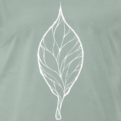 Blatt des Lebens - Männer Premium T-Shirt