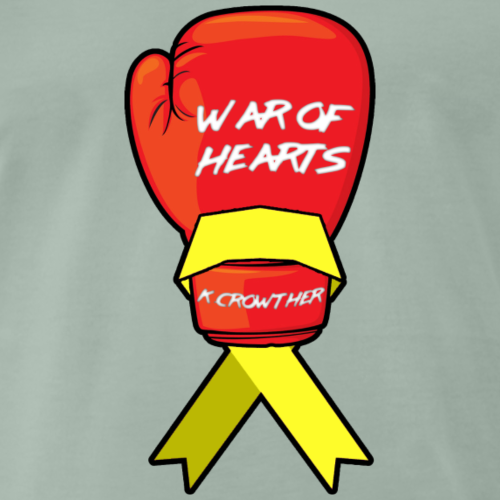 War of Hearts | K. Crowther Glove - Men's Premium T-Shirt