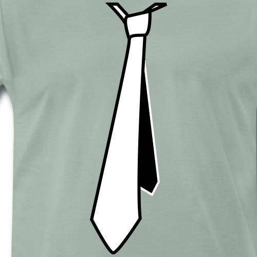 Cravate classique mouvement - T-shirt Premium Homme