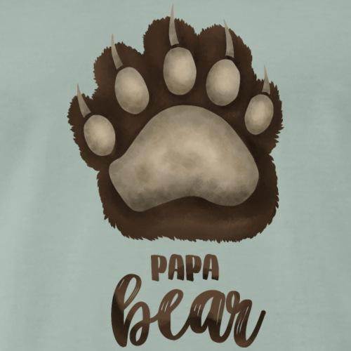 Papa Bear für Eltern-Baby-Partnerlook - Männer Premium T-Shirt