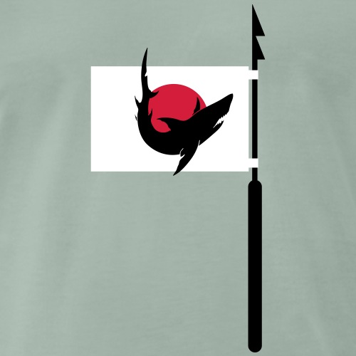 Skandal um Haifischflossen in Asien - Männer Premium T-Shirt