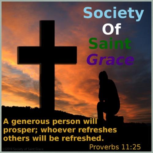 Society Of Saint Grace - Men's Premium T-Shirt