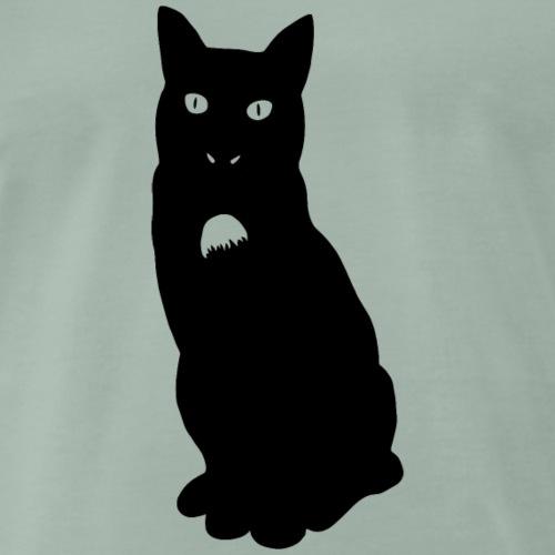 Knor de kat - Mannen Premium T-shirt