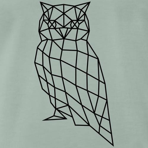 Eule | Vogel | Polygone - Männer Premium T-Shirt