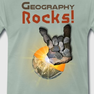 Geography Rocks! - Men's Premium T-Shirt
