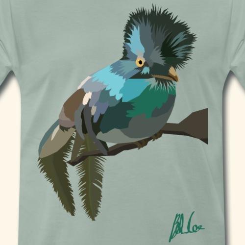 Horniman bird - Men's Premium T-Shirt