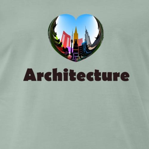 architecture - Männer Premium T-Shirt
