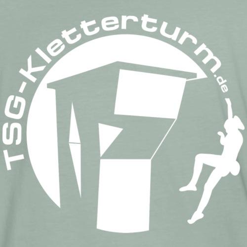 Weißer Druck - Männer Premium T-Shirt