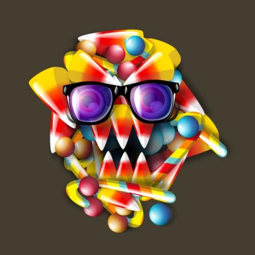 Candy Monster - Camiseta premium hombre