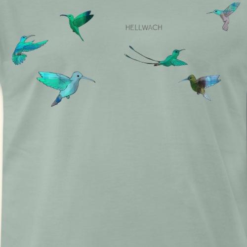 Kolibris - Männer Premium T-Shirt