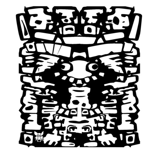 tribal 08 - Maglietta Premium da uomo