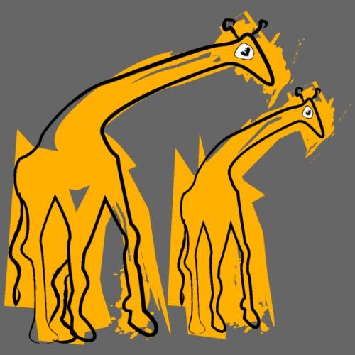 yellow giraffes - Maglietta Premium da uomo